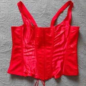 Other - Sexy red size 26 bustier corset
